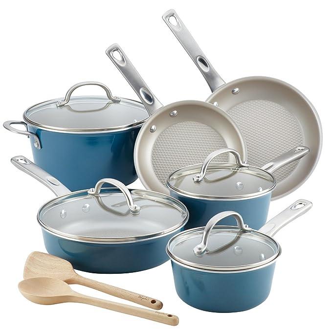 Amazon.com: Ayesha Curry 12pc Aluminum Cookware Set: Electronics