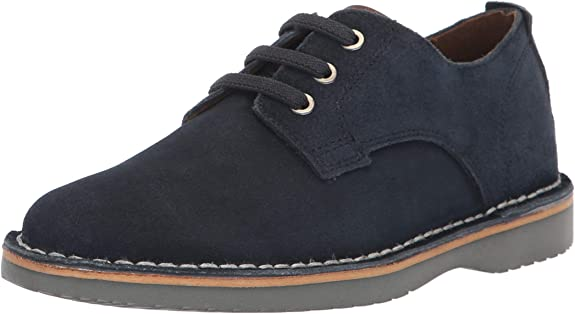 Florsheim Kids Boys' Navigator Dress Casual Plain Toe Oxford Jr, Navy, 6 Medium Big Kid best boys' dress shoes
