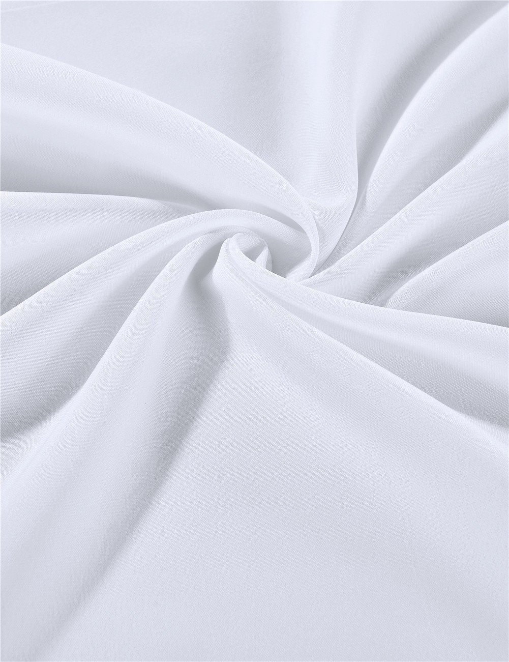 Cieltown Polyester Cloth Napkins 1-Dozen (17 x 17-Inch, white) by cieltown (Image #3)