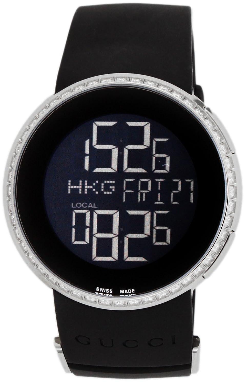 [グッチ]GUCCI 腕時計 Iグッチ ブラック文字盤 YA114402 レディース 【並行輸入品】 B00PQ0AAGI