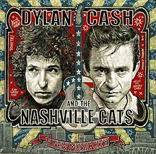 CD : Dylan, Cash & the Nashville Cats: A New Music City (2 Disc)