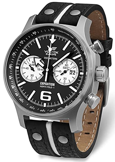 Vostok europe - Expedition north pole relojes hombre 6s21/5955199: Vostok Europe: Amazon.es: Relojes
