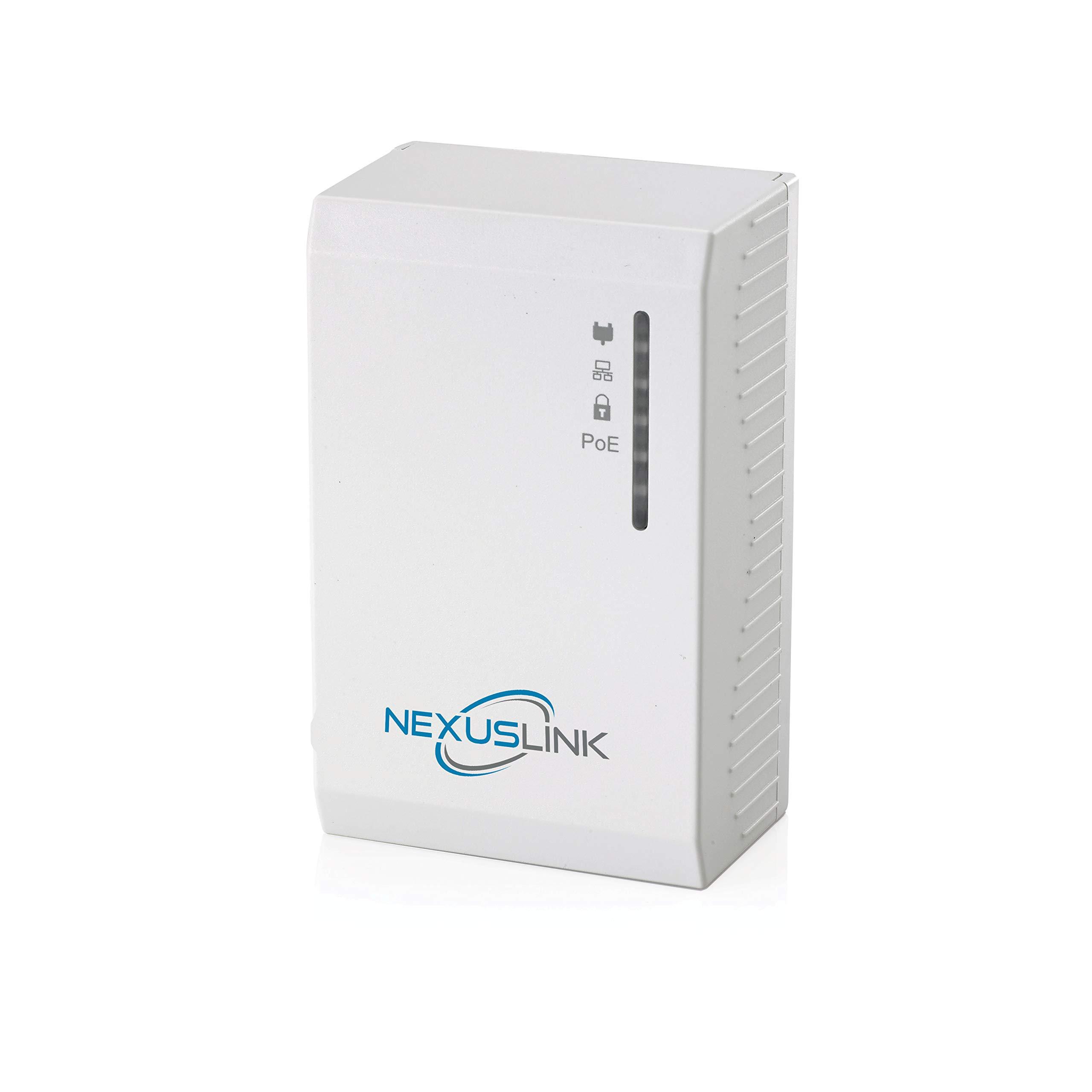 NexusLink G.hn Powerline Adapter with Power Over Ethernet (PoE) I GPL-1200PoE by NEXUSLINK