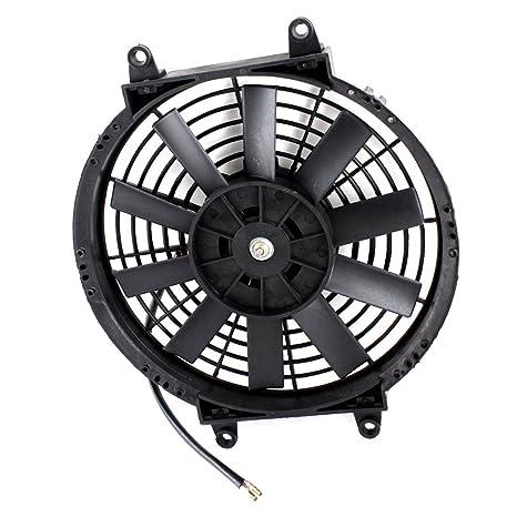 Amazon Com Uxcell Dc 24v 3a 10 10 Blades Auto Car Air Conditioner