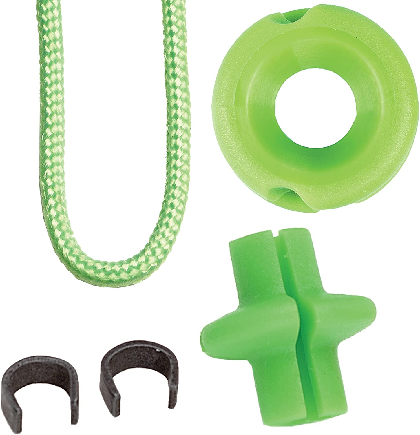 Pine Ridge Archery Hunter's Combo Pack, Lime Green, 3/16-Inch