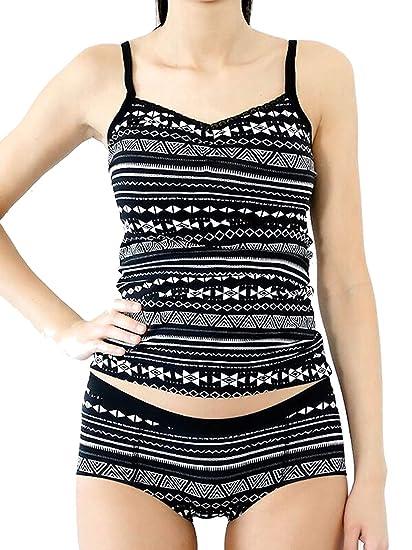 ALBERO - Camiseta de Tirantes para Mujer con Encaje, algodón orgánico, Gots Color Negro y Natural. S: Amazon.es: Ropa y accesorios