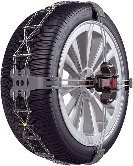 Catene da neve per Audi Q2 215 55 17 pollici R17 ruote cerchi 7 mm auto kit con