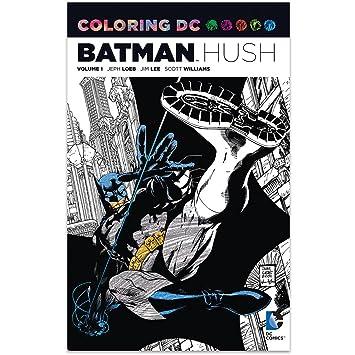 Amazon.com : DC Comics Coloring DC BATMAN: HUSH Graphic Novel ...
