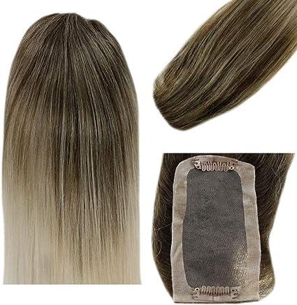 LaaVoo 16 Pulgadas Hair Toppers Corona de Pelo para Mujeres Crown ...
