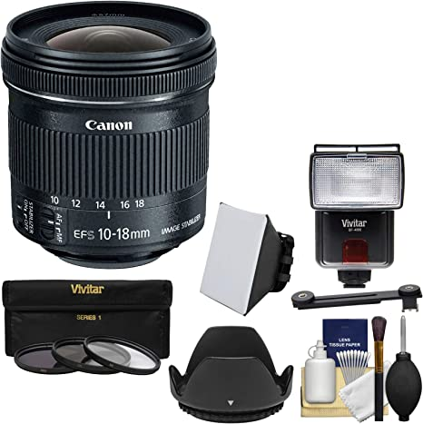 Canon EF-S 10 – 18 mm F/4,5 – 5,6 IS STM Lente de Zoom