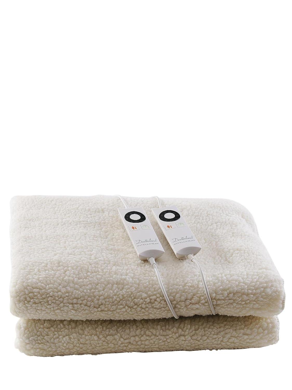 Dreamland Intelliheat Protector de colchón Premium forro polar [tamaño cama - solo]: Amazon.es: Hogar