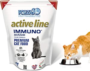 Forza10 Active Immuno Support Diet Dry Cat Food for Adult Cats, Natural Limited Ingredient Cat Food (4 Pound)