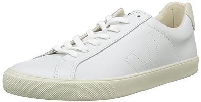 91584dc15b Veja Unisex Adults  Esplar Low-Top Sneakers White Size  6  Amazon.co ...