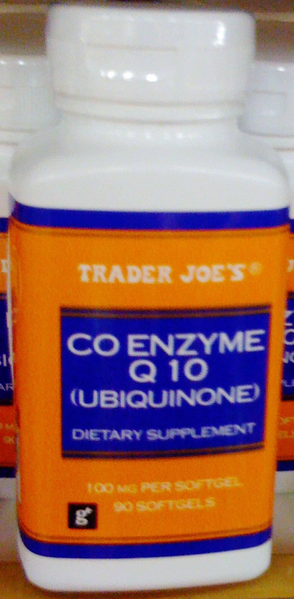 Amazon.com: Trader Joes Co Enzyme Q 10 (ubiquinone), 100mg, 90 Softgels: Health & Personal Care