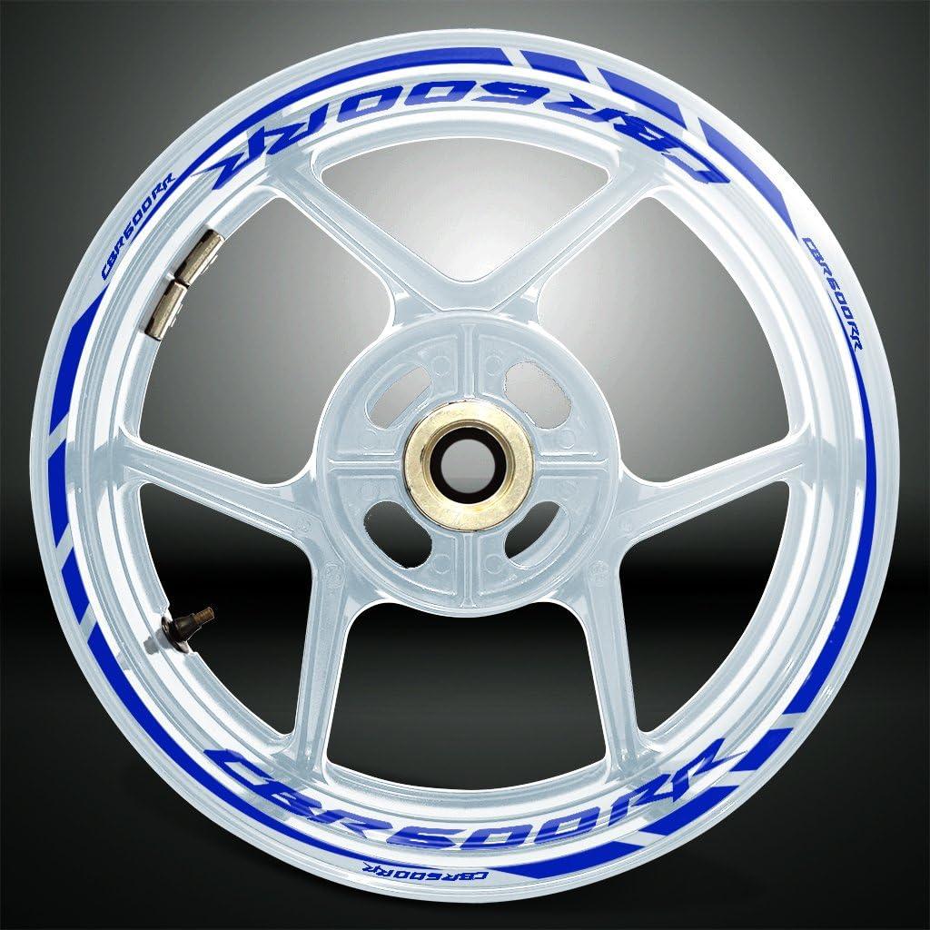Gloss Light Green Motorcycle Rim Wheel Decal Accessory Sticker For Honda CBR 600RR