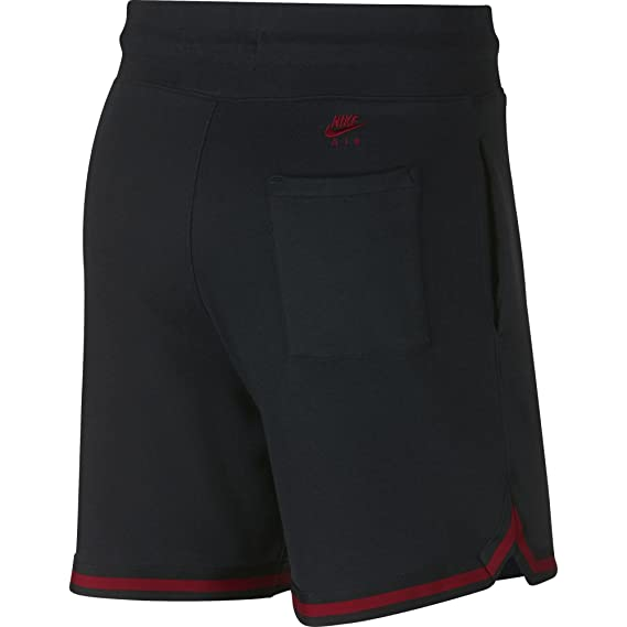 72ef9da03e25 Jordan Shorts - Sportswear Wings Lite 1988 Fleece Black Red Size  XXL  (XX-Large)  Amazon.co.uk  Clothing