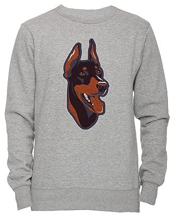 Doberman Pinscher Dog Breed Unisex Mens Womens Jumper Sweatshirt