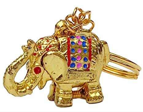 Amazon.com: Nueva clave de Lucky Elefante Llavero con ...