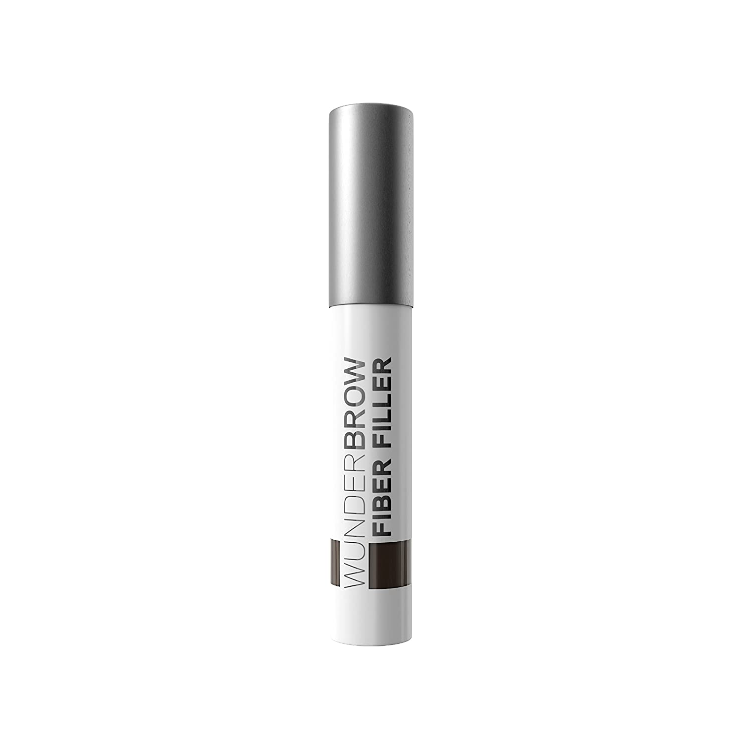 WUNDERBROW FIBER FILLER Long Lasting Eyebrow Powder Makeup for Fuller Healthier Brows, Brunette