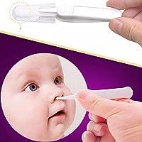 Baby Safe Nose Clean Clip ABS Plastic Tweezers Ear Nose Clean Navel Tweezers Baby Care Cleaner