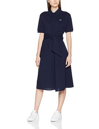 d2050d9fb6 Lacoste Ef3089 - Robe - Femme: Amazon.fr: Vêtements et accessoires