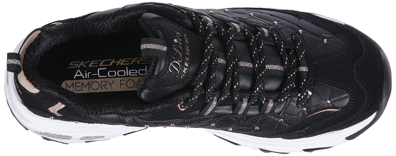 Skechers-D-039-Lites-Women-039-s-Casual-Lightweight-Fashion-Sneakers-Athletic-Shoes thumbnail 37