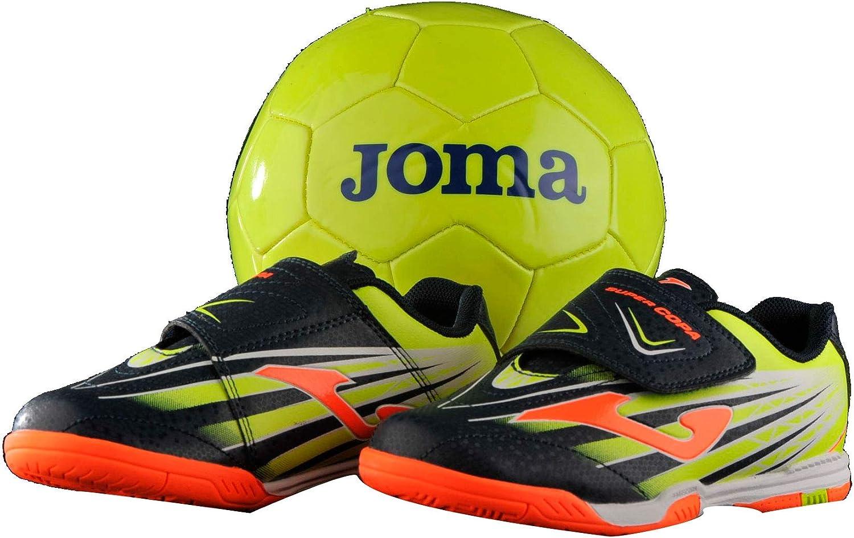 Joma Super Copa JR Zapatillas F/útbol Sala ni/ño