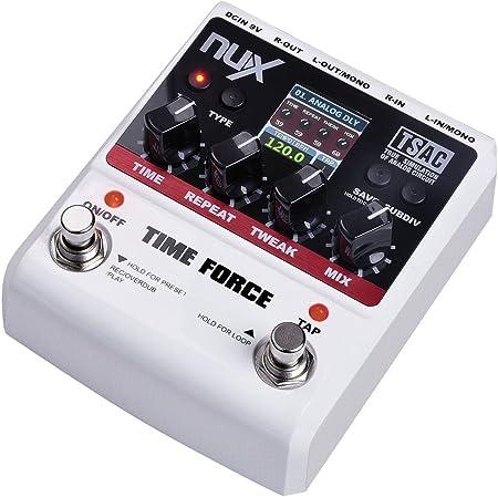 Nux - Nux time-force pedal de efectos para la guitarrara, color ...
