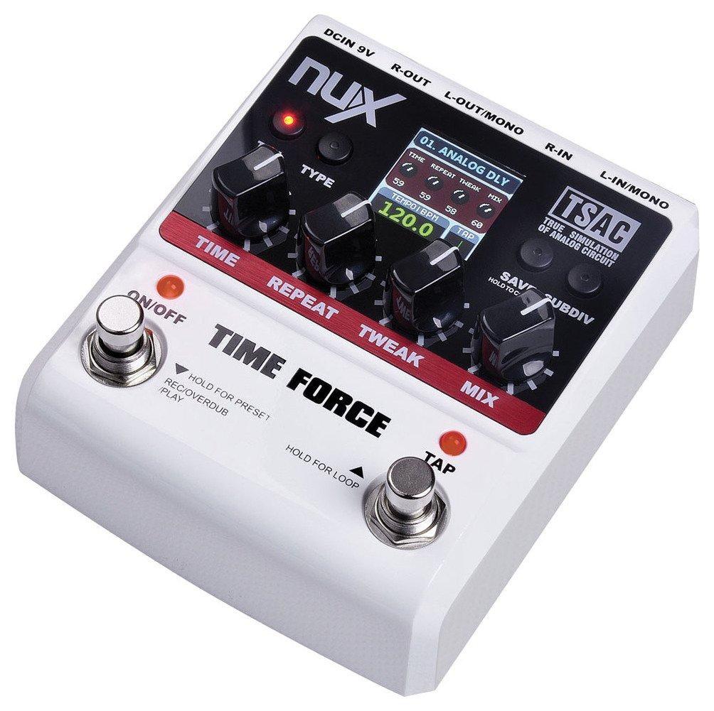 NUX TIME-FORCE Nux Effektpedal für Gitarren Time Force 173.343UK