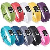 Für Garmin Vivofit 4 Wechselarmband, S/M, Silikon-Ersatz-Handgelenk-Band,Armband Ersatzband für Garmin Vivofit 4 - (NO-Tracker)