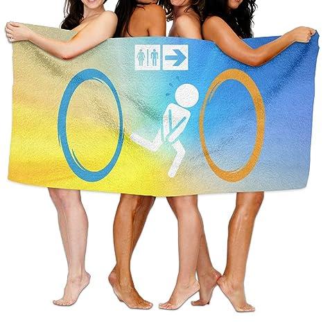 Toallas de baño unisex muy suaves y absorbentes de Funny Portal
