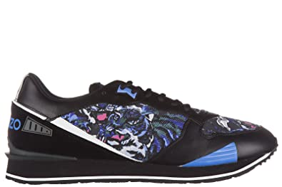 huge discount 87a3f 575de Kenzo Men's Scarpe Sneakers Uomo In Pelle Nuove Tiger Low ...