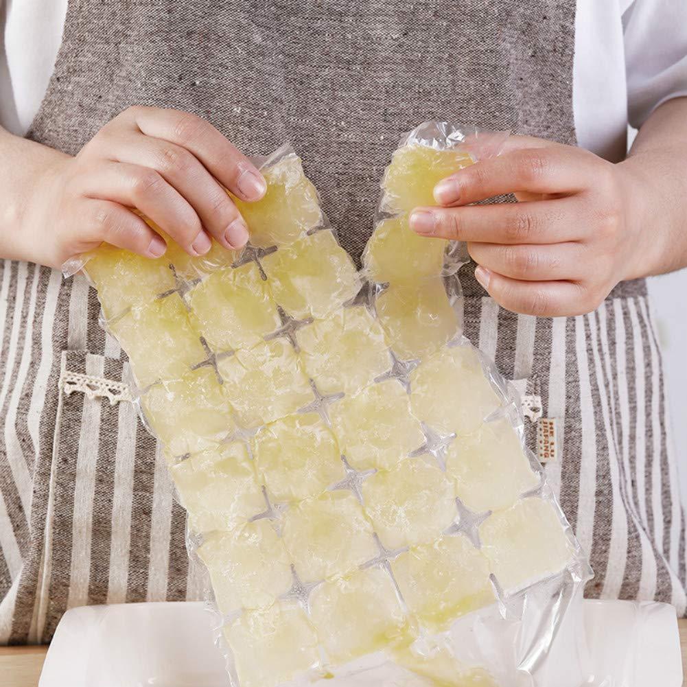 Bolsas de cubitos de hielo autoadhesivas, 300 ml, de ...
