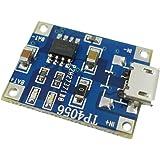 EasyWordMall TP4056 1A マイクロ USB 充電ボード 充電器モジュール リチウム電池プレート 再充電可能な