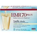 HMR 70 Plus Vanilla Shake, 18 Single-Serve Packets