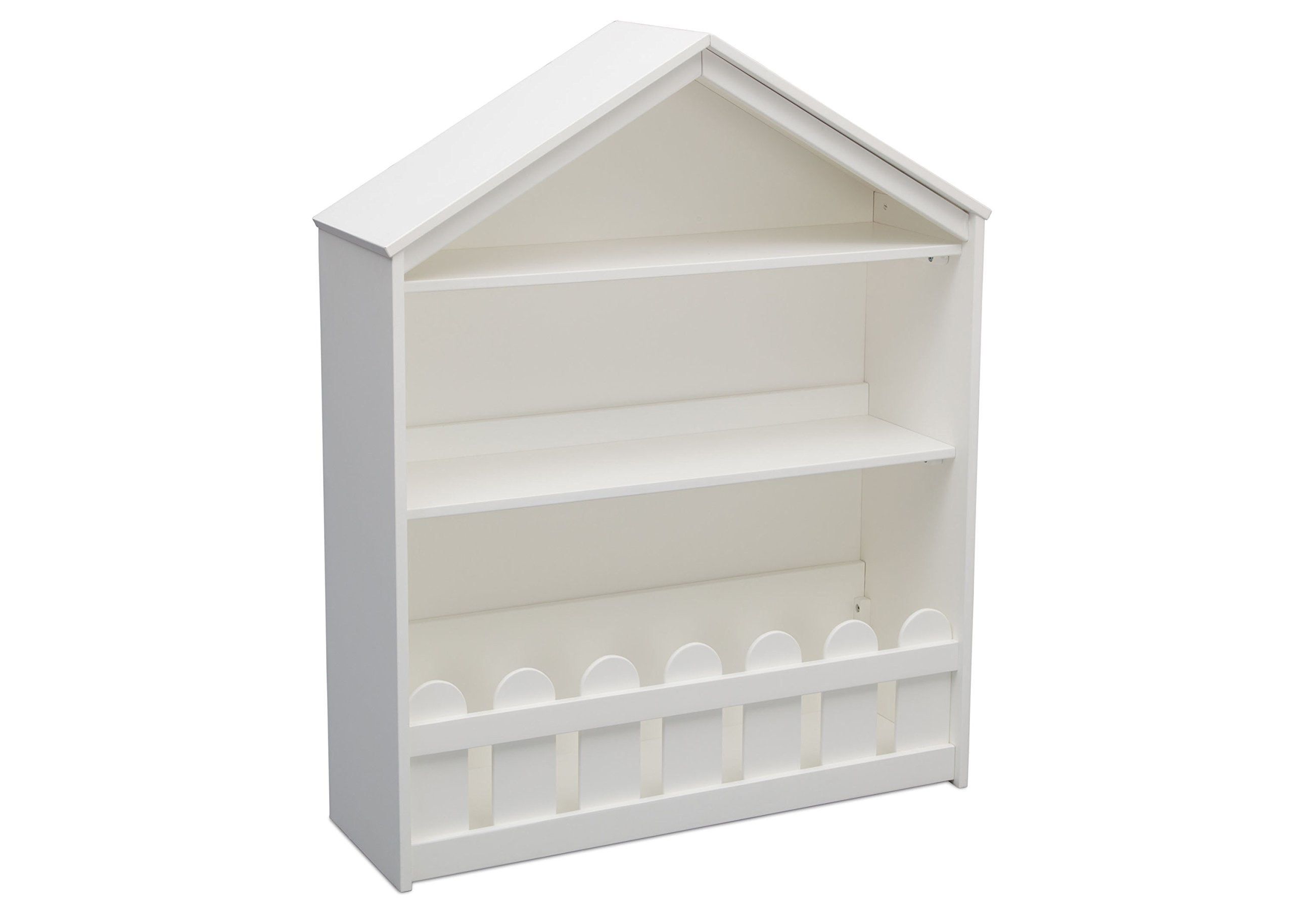 Serta Happy Home Storage Bookcase, Bianca