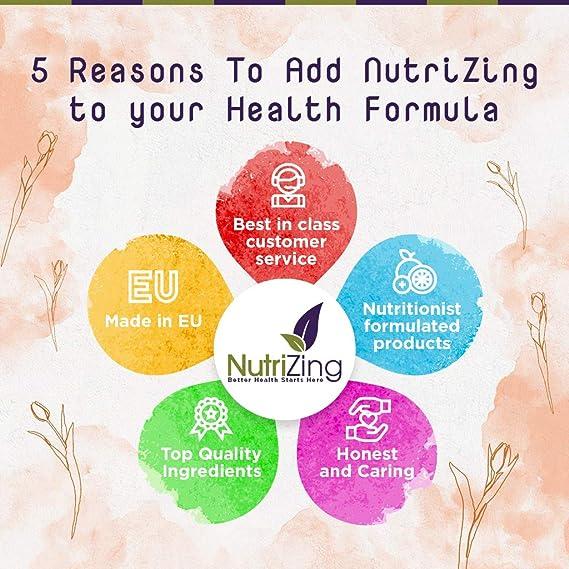 NutriZing suplemento de vitamina D3 ~ alta resistencia 1000 IU ~ para las mujeres y los hombres ~ hecho en el Reino Unido ~ premium Fuente de vitamina D ...
