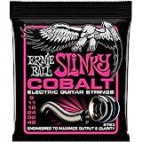 Ernie Ball 2723 Super Slinky Cobalt Electric Guitar Strings 9-42 2 Pack