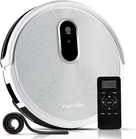 Experobot EX502 - Robot aspirador con diseño extrafino, bandas ...