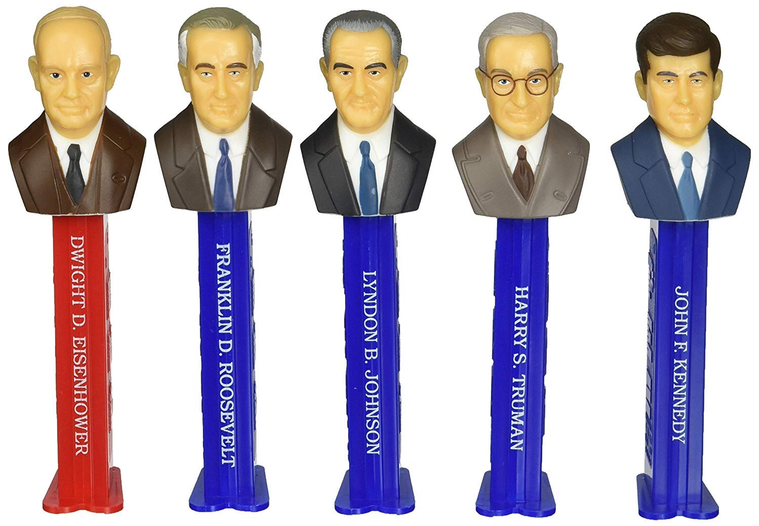 PEZ Candy Presidents of The United States Dispensers: Volume 7 - 1933-1969 by PEZ Candy