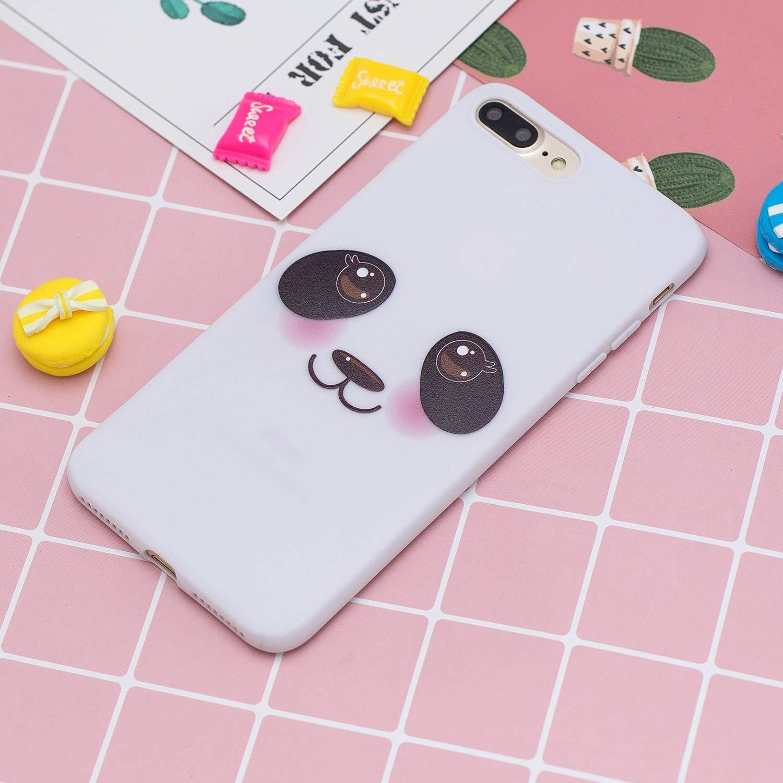 HopMore Funda para iPhone 7 Plus//iPhone 8 Plus Silicona con Cord/ón Dibujos Divertidas 3D Carcasa iPhone 7 Plus Resistente TPU Blando Case Fina Antigolpes Caso Gracioso Unicornio Rosa