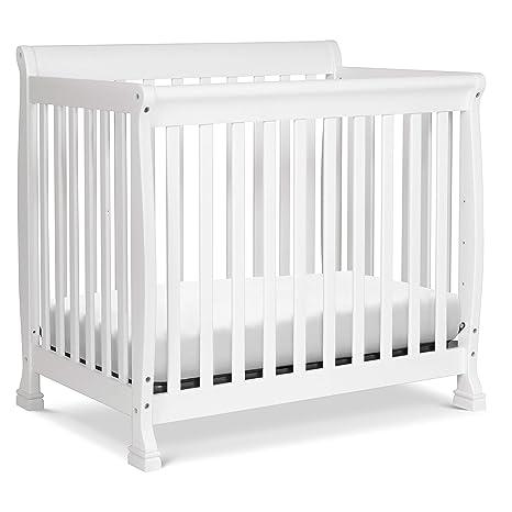 Ebony DaVinci Kalani 2-in-1 Mini Crib and Twin Bed