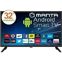 """Manta Couverture 32lha59l écran LED 32"""" Android TV 7.1"""