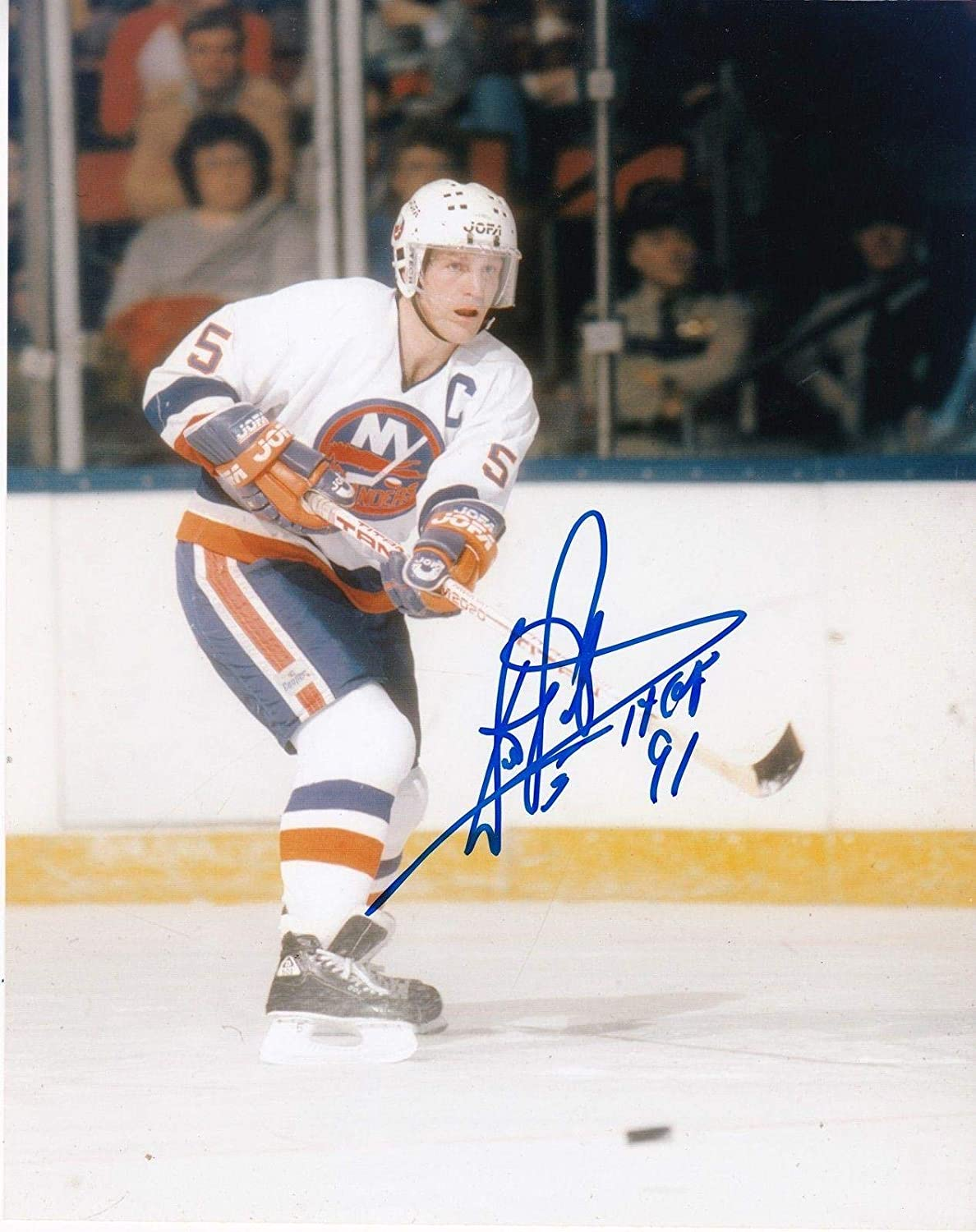 9ee2e22b184 Signed Potvin Photo - HOF 91 8x10 - Autographed NHL Photos at Amazon s  Sports Collectibles Store