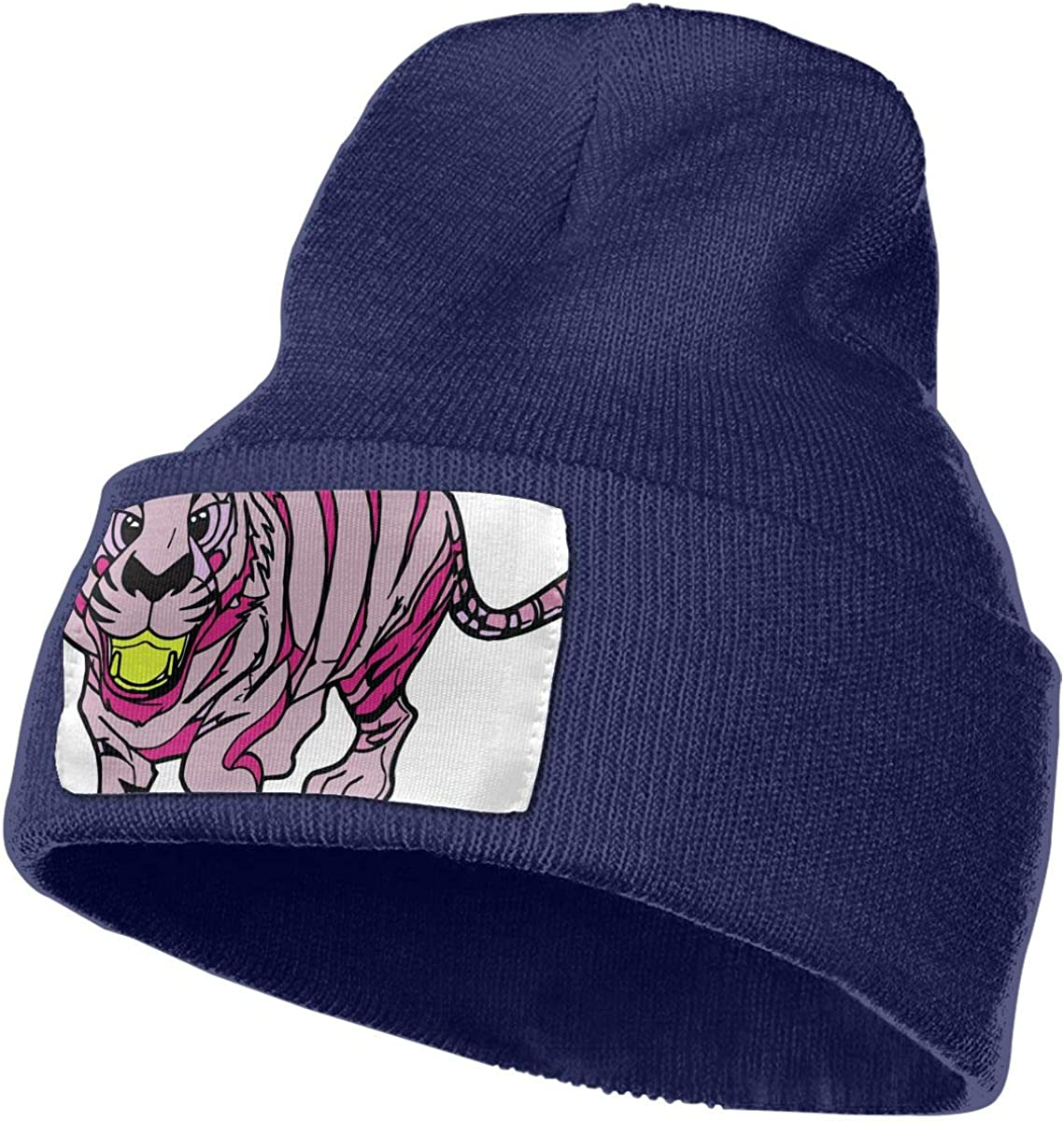 is It A Cat Or A Tiger Unisex Fashion Knitted Hat Luxury Hip-Hop Cap