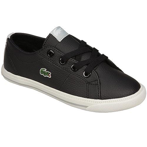 Zapatillas Lacoste Marcel Pit para niño (Negro)