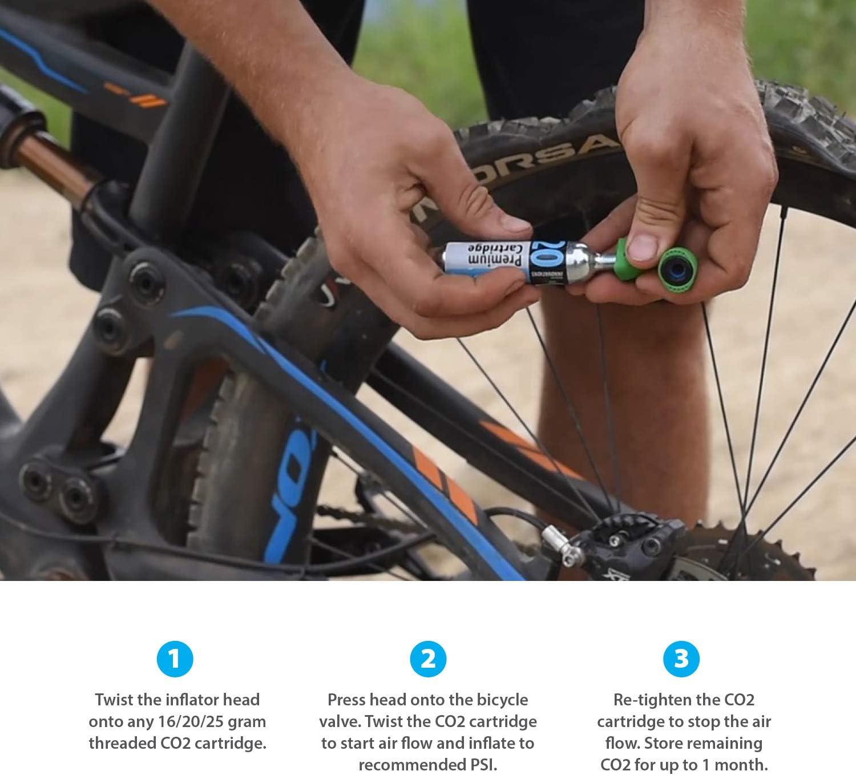 Innovations Genuine Inflador de Co2, Unisex, Talla única: Amazon.es: Deportes y aire libre