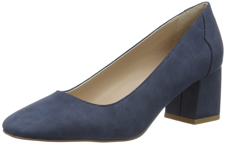 Esprit Bice Pump, Zapatos de Tacón para Mujer 41 EU|Azul (400 Navy)
