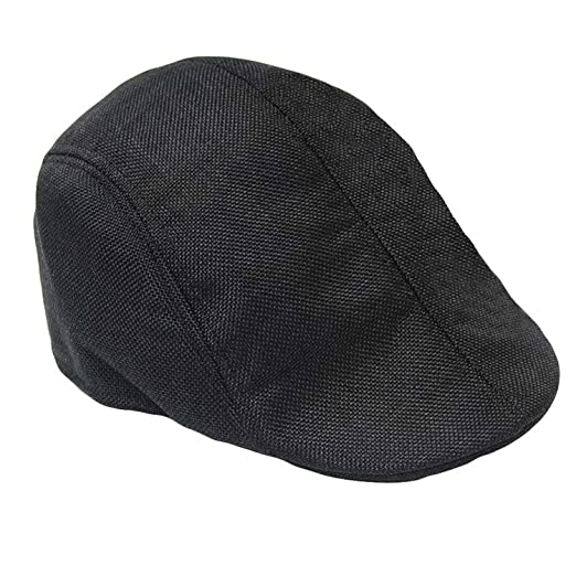 e28c1dc08d005 Unisex Herringbone Tweed Gatsby Newsboy Cap Men W Wool Ivy Hat Golf Driving  Flat Cabbie Flat at Amazon Men s Clothing store