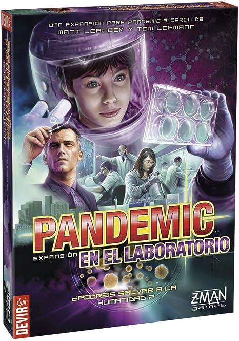 Devir BGPANLAB, Pandemic expansión: En el laboratorio, juego de mesa: Amazon.es: Juguetes y juegos